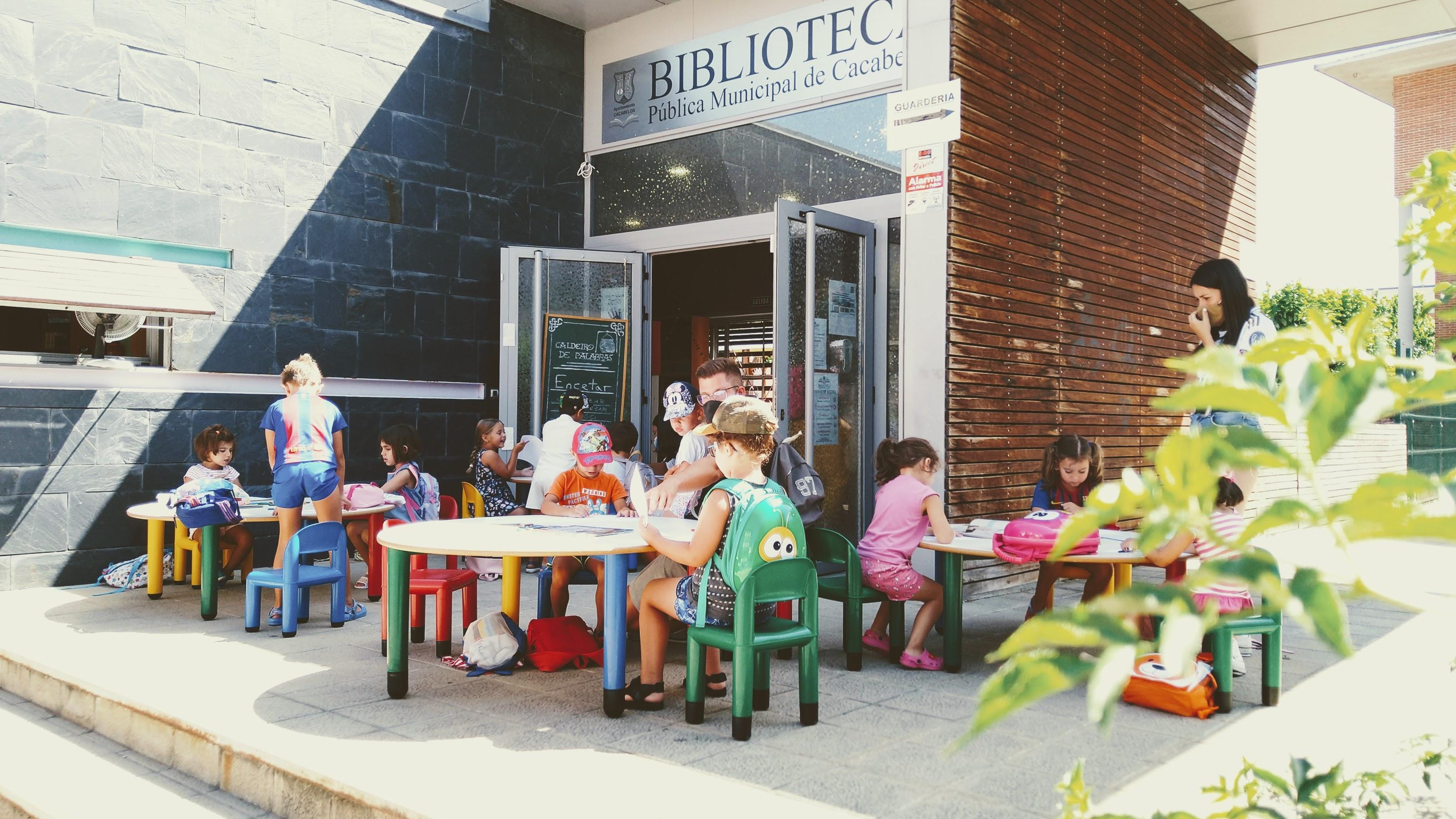 Biblioteca de Cacabelos - la hora del cuento